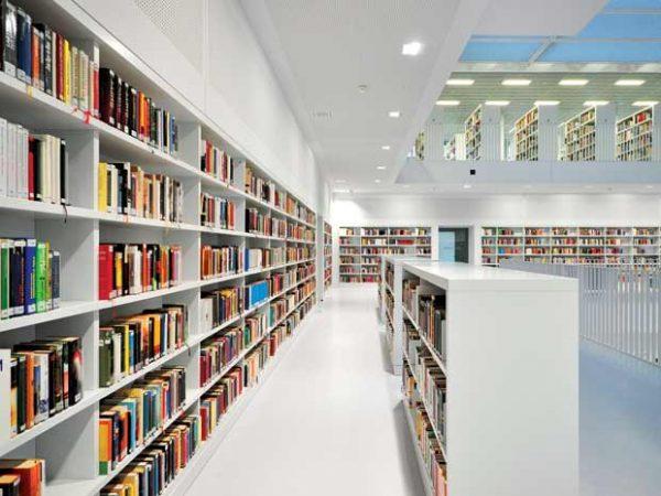 Cách chọn giấy dán tường cho thư viện