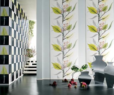 Hoàn thiện tường nhà với giấy dán tường Bindo