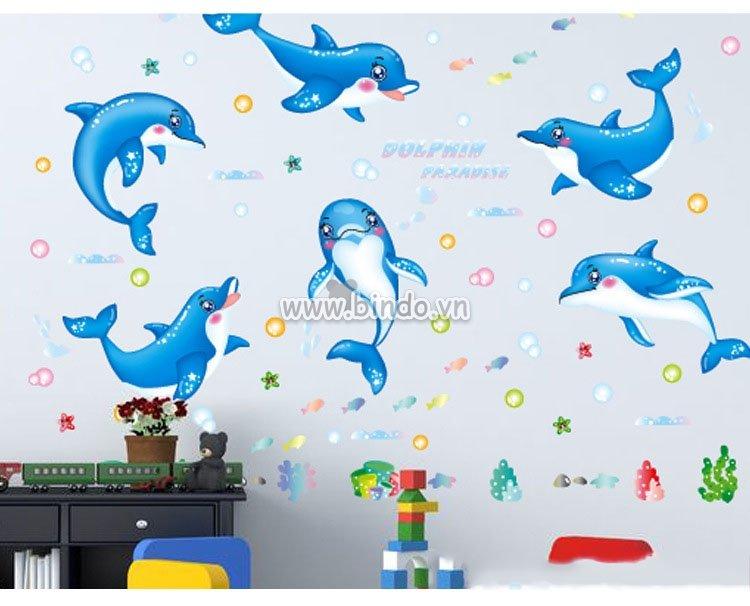 Những mẫu giấy dán tường 3d cuốn hút cho phòng tắm