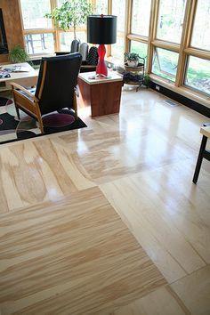Sàn gỗ ép một giải pháp mới vừa rẻ lại bền cho ngôi nhà của bạn