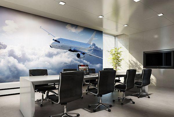 Tham khảo mẫu giấy dán tường hiện đại dành cho phòng họp