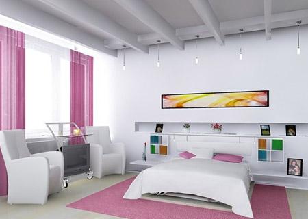 Trang trí phòng ngủ đơn giản, thoải mái nhưng vẫn đầy đủ tiện nghi