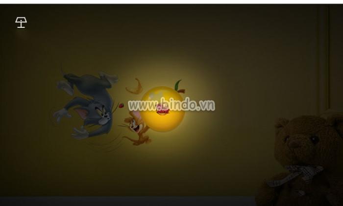 Decal dán tường Đèn ngủ Tom And Jerry 2