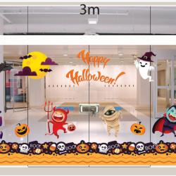 Decal dán tường Decal trang trí Halloween 2018 số 7