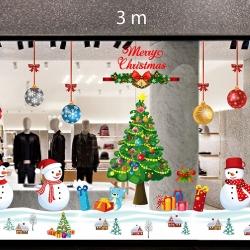 Decal dán tường Trang trí Noel Combo Số 10