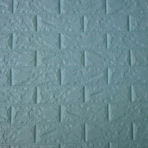 Decal dán tường Xốp dán tường màu xanh ngọc