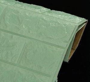 Xốp dán tường màu xanh lơ (8mm)