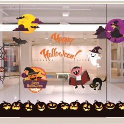 Decal dán tường Decal trang trí Halloween 2018 số 20