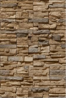 Decal dán tường Tranh 3D gạch