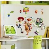 Decal dán tường Decal câu chuyện đồ chơi