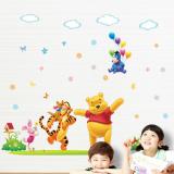 Decal dán tường Gấu Pooh ca hát