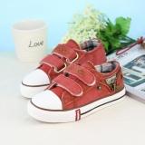 Giày vải cho bé trai màu hồng