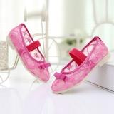Giày cho bé gái màu hồng lưới