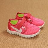 Giày cho bé màu hồng lưới