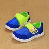 Giày cho bé màu xanh sắc màu
