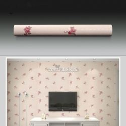 Giấy decal cuộn họa tiết hoa hồng nhỏ