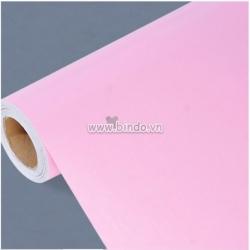 Giấy decal cuộn màu hồng trơn
