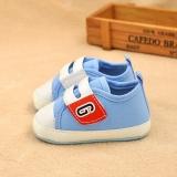 Giày tập đi cho bé xanh lơ trắng