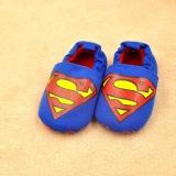 Giày tập đi cho bé xanh siêu nhân