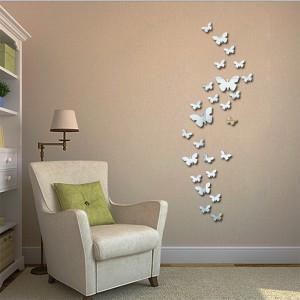 Gương trang trí bươm bướm
