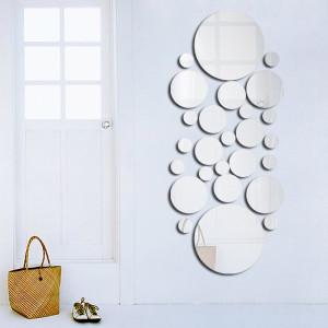 Gương trang trí hình tròn