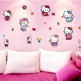 Decal dán tường Hello Kitty 3