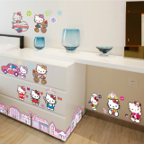 Decal dán tường Hello Kitty 4