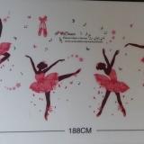 Decal dán tường Những cô gái nhảy múa