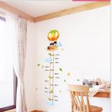 Decal dán tường Thước đo kinh khí cầu