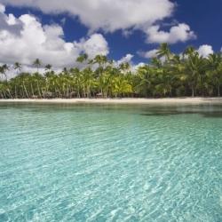 Bờ biển ở Anse Forbans