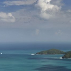 Núi và biển (panorama)