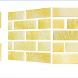 Xốp giả gạch Hàn Quốc màu Vàng trơn