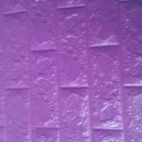 Decal dán tường Xốp dán tường màu Tím Đậm (8mm)