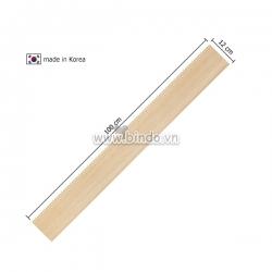 Decal dán tường Xốp giả gỗ hàn quốc chân tường wood (100x12)