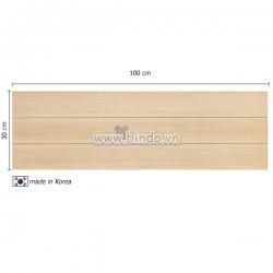 Decal dán tường Xốp giả gỗ hàn quốc wood (100x30)