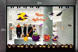 Decal dán tường Decal trang trí Halloween 2018 số 25