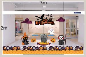 Decal dán tường Decal trang trí Halloween 2018 số 2
