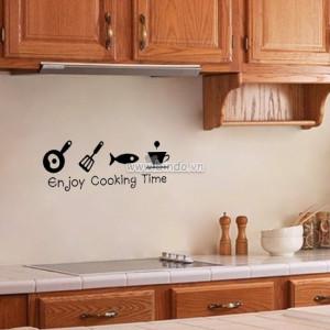 Decal dán tường Dụng cụ trang trí bếp