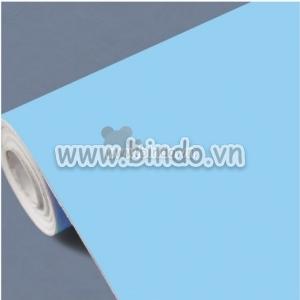 Giấy decal cuộn màu xanh trơn (1,2x1,0 m)