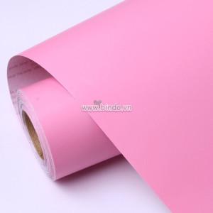 Giấy decal cuộn màu hồng nhám