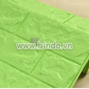 Xốp dán tường màu xanh lá (KNZ)
