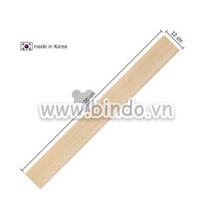 Xốp giả gỗ hàn quốc chân tường wood (100x12)