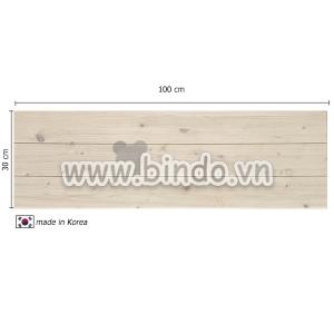 Xốp giả gỗ hàn quốc Ivory (vân gỗ tự nhiên) (100x30)