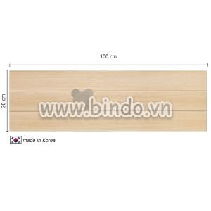 Xốp giả gỗ hàn quốc wood (100x30)