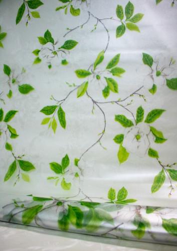 Decal dán tường Dán kính cây xanh