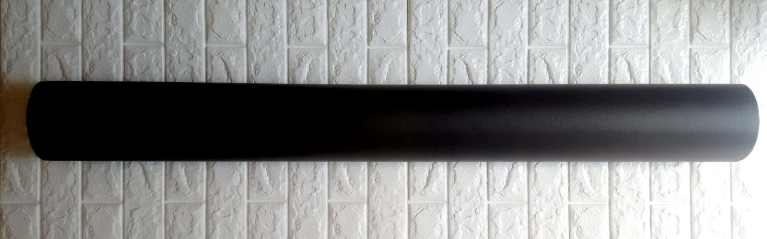 Decal cuộn đen nhám 3