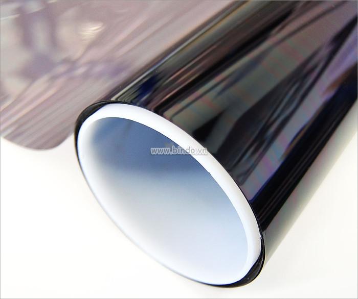 Decal dán tường Decal dán kính chống nắng màu trà