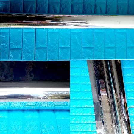 Decal dán tường Decal dán kính chống nắng trắng bạc