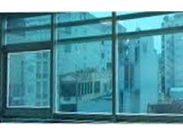 Decal dán tường Decal dán kính chống nắng xanh biển