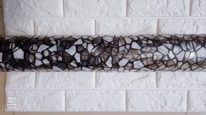 Decal dán tường Decal dán kính mảnh ghep thủy tinh vỡ